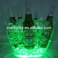 LED acrylic wine beer bottle holder