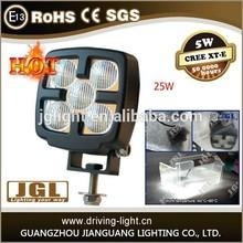 25w power square IP68 Cree led work light CE, ROHS, EMC