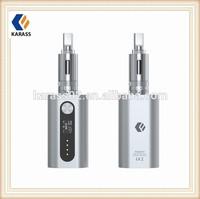 Karass mechanical vaporizer 4400mah battery,variable wattage 7-50W with huge vapor