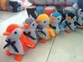 أفخم لعبة البطريق/ البطريق عيد الميلاد مع أضواء/ الغناء والرقص ألعاب البطريق