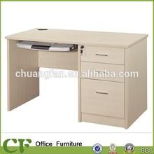 CF light color school furniture modern office desk table for school teacher use
