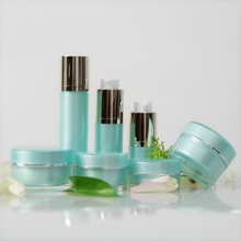 30ml natural and elegant single layer 30ml round customized decorative empty container for cosmetics