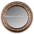 vintage estilo ps moldura de espelho redondo