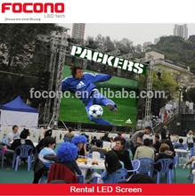 CE RoHS ETL Chile Proyectos Todo Color Programable Publicidad 2014 P16 Pantalla Led Para Exterior