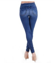 Fashion Lady Jeans Skinny Jeans basic motor rider woman jeans