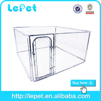 2015 wholesale chain link rolling kennel pet