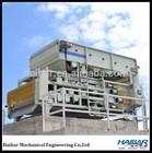 sludge dewatering machine for slaughterhouse wastewater