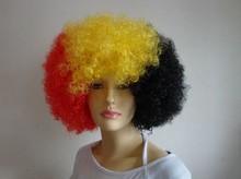 Alibaba china football fans wig hair integration wigs