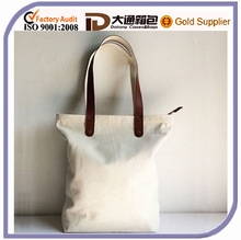 Large Personalized Casual Canvas Tote Shopping Bag