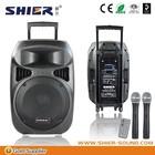 "SD/USB active waterproof wirelesss speakers 85v-265v(50-60Hz) 15""woofer pa system wireless speaker"
