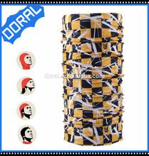 Fashionable Cheap seamless plain white bandana with black
