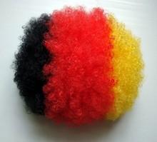 Wholesale 2015 Hot Sale Fashion Cheap Football Fan Wigs head model hair