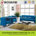 fábrica de vendas rústico sofá de couro por atacado