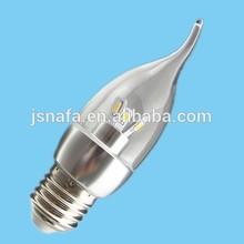 110V 220V dimmable candle light led E12 E14 E27 B15 B22 led candle light