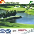 Verde brillante erba sintetica golf/sintetico mettendo erba verde