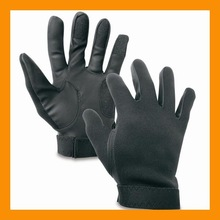 Black Full Finger Defense Neoprene Glove