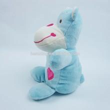 hot selling 20cm valentine day stuffed hippo plush toys