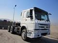 6x4 sinotruk howo caminhão trator zz4257n3241w 336hp tractor