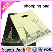 Yason sublimation printed pet shopping bag victoria's secret paper shopping bag waterproof plastic shopping bag