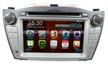 Hot Sell Hyundai iX35 Tucson 2009-2012 Car Dvd Gps With Radio Free Map Ipod MP3 AM FM