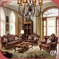 simple wooden sofa set design A89