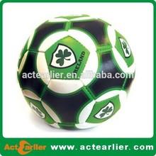 2015 fashion pvc leather brand soccer ball