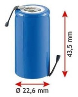 NiCd SC1300mAh Rechargeable Battery Manufacturer with CE,ROHS,UL certificates