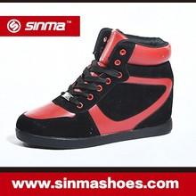 Hot sale wholesale factory price hidden fashion wedge sports sneaker women