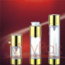 15ml 30ml 50ml Shining UV airless pump bottle