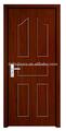mdf pvc porta interior revestido para a construção do quarto