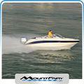 en fibre de verre bateau élégant vitesse bateau de plaisance