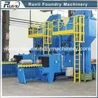 RV69 Series Roller Conveyor Type Gas Cylinder shot blasting machine
