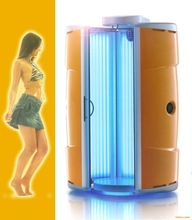 Hot Sale!! Commerical stand up tanning Manufactures vertical skin Solarium Tanning bed F9