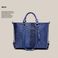 BV2139 2015 fashion lizard pattern handbag retro trend European hot selling mature women bags