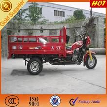 Gas trike motorcycle for sale/ 3 wheel motor for simple model