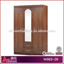 guangzhou factory sale modular wardrobes bedroom 3 doors wardrobe designs