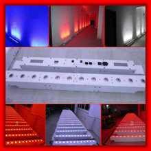 12x15w 5 in 1 battery power & wireless DMX wall washer light,15W battery dmx wireless led bar dj lights