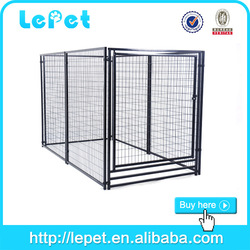 large welded wire panel dog stainless steel cage