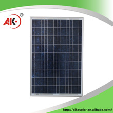 China wholesale high quality solar cell panel 55w 12v