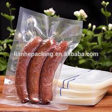 food grade plastic bags/meat packing Vacuum bags