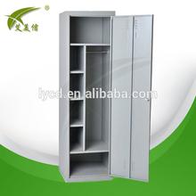 Single door steel locker decorative laminate wardrobe