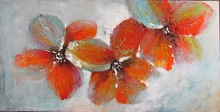 Bedroom wall hanging picture canvas flower oil painting
