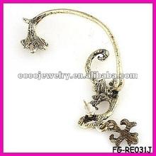 vintage alloy ear wrap earrings