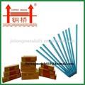 300 - 400 mm comprimento aws e 6013 em aço leve eletrodos de solda 3.2 mm