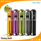 2015 Youngjune Latest Arrival!!! newest ecig Variable voltage original Tesla,wax vaporizer mod k100 mod