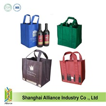 90 GSM Non-woven Six Bottle Wine Bag