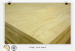 finger jointed rubber wood board/panel