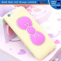 Beautiful Butterfly Holder TPU Mobile Phone Cover for iPhone6 Case