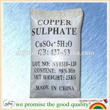 96%& 98% solfato di rame formula chimica//7758-99-8