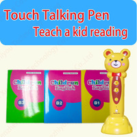 China Talking Pen Factory Russian learning pen kids reading pen with audio books in Alibaba